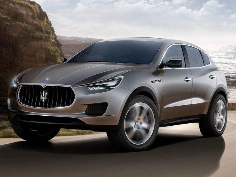 В следующем году начнется выпуск кроссоверов от Maserati