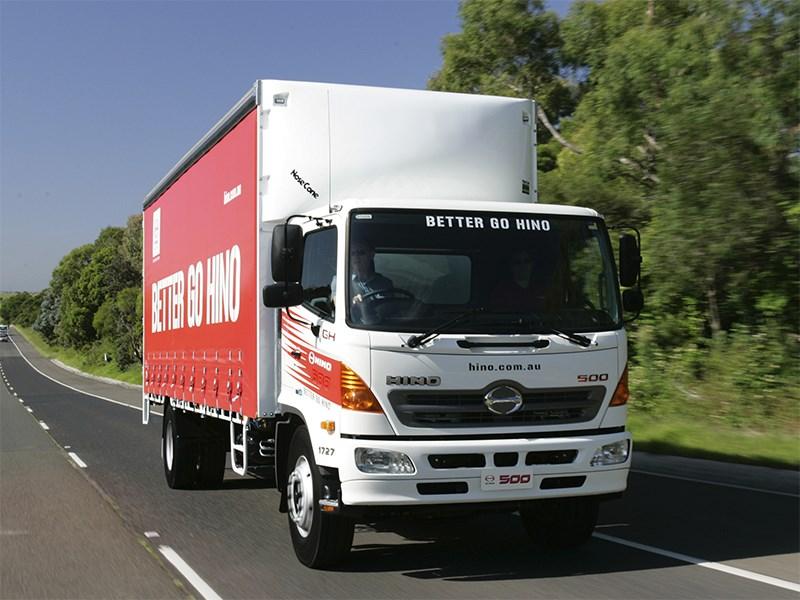 Японский производитель грузовиков хочет наладить производство в России