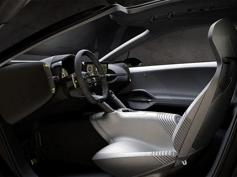 Kia Niro концепт 2013 водительское место