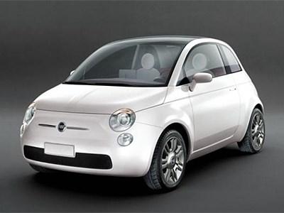 Семейство Fiat 500 пополнится пятидверным хэтчбеком