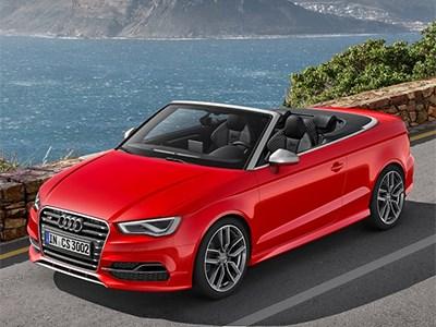 Audi готовится представить S3 со складной крышей