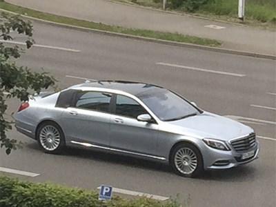 Премьера Mercedes-Benz S600 Maybach состоится в ноябре в Гуанчжоу