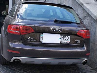 Московские чиновники хотят добиться взимания штрафов за сокрытие номеров припаркованных автомобилей