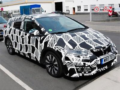 Honda представит обновленный универсал Civic Tourer в будущем году
