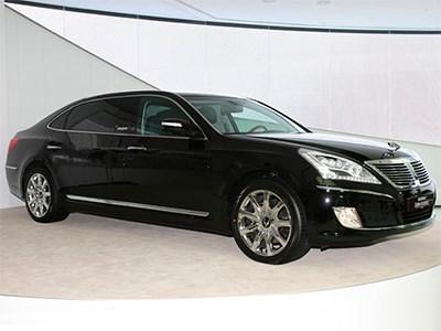 Hyundai привезет на Московский автосалон удлиненный седан Equus Limousine
