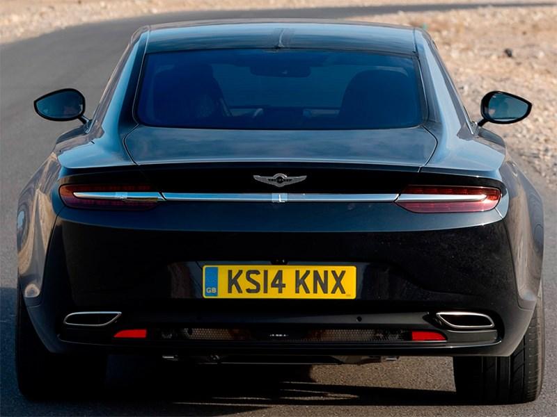 Aston Martin Lagonda 2015 вид сзади
