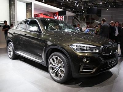 В Париже состоялась официальная премьера обновленного кроссовера BMW X6