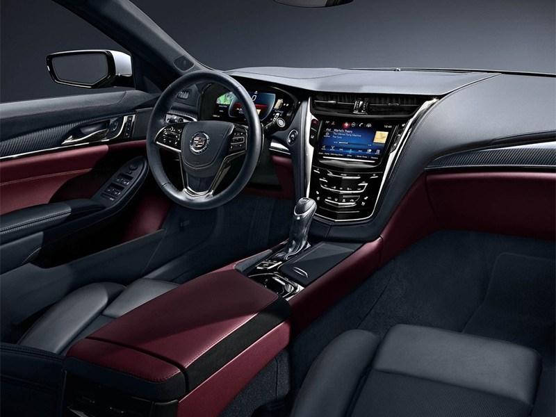 Cadillac CTS 2014 салон