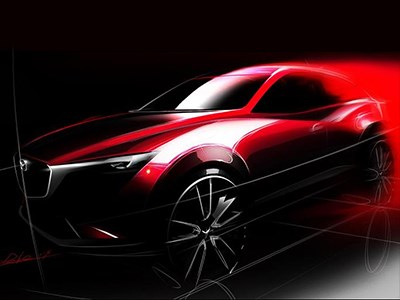 В Лос-Анджелесе состоится премьера нового компактного кроссовера от Mazda
