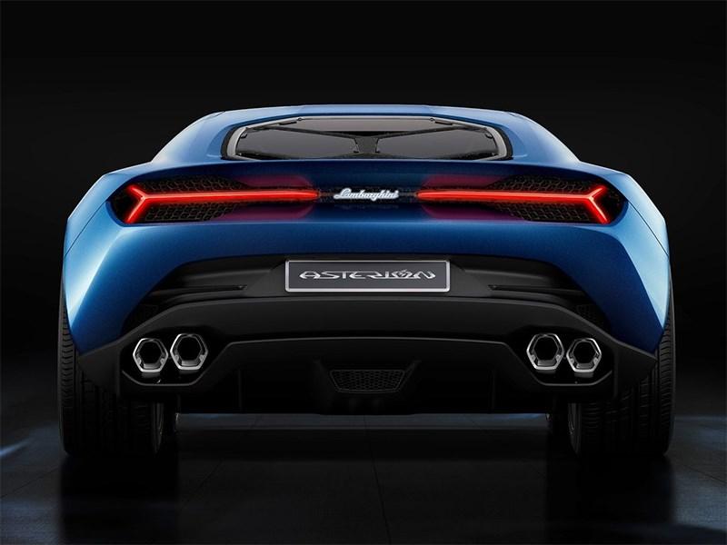 Lamborghini Asterion LPI 910-4 concept 2014 вид сзади