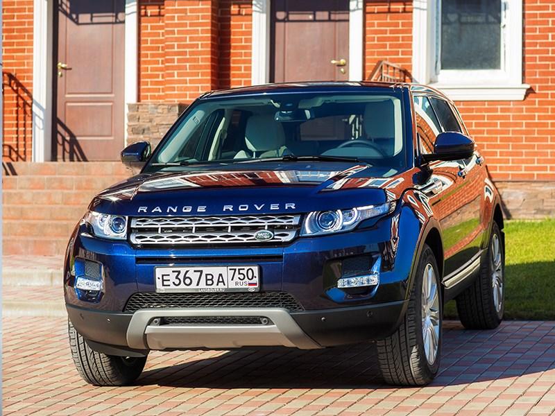 Land Rover Range Rover Evoque 5-door 2013 вид спереди