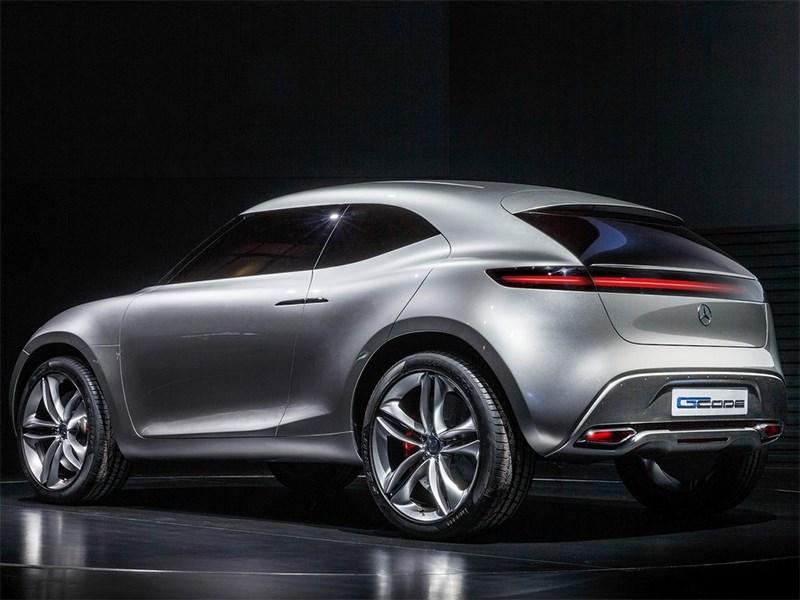 Mercedes-Benz G-Code concept 2014 вид сбоку сзади