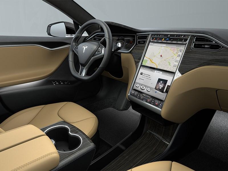 схема автомобиль тесла 2014 фото