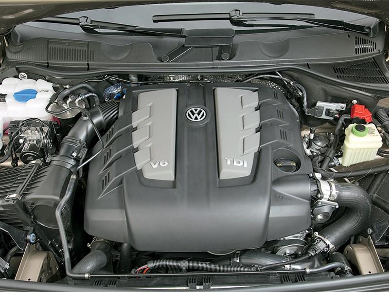 Volkswagen Touareg 2014 двигатель