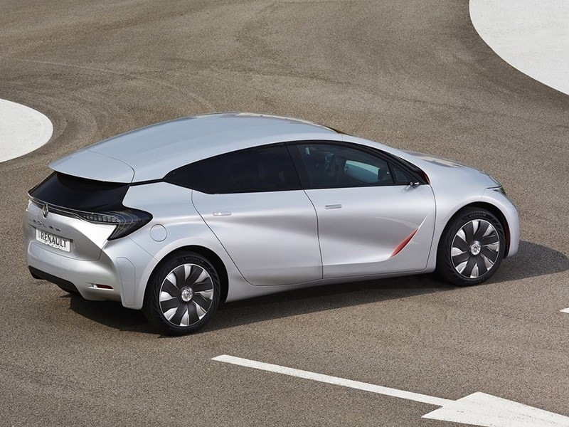 Renault Eolab Concept 2014 вид сбоку сзади