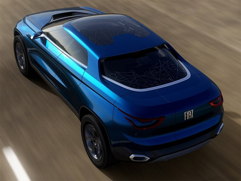Fiat FCC4 concept 2014 вид сверху