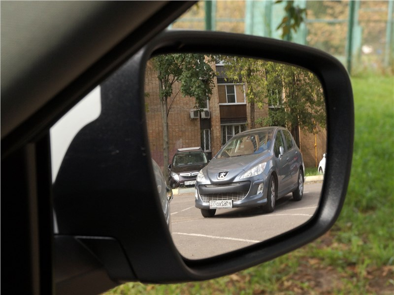 Renault Koleos 2017 боковое зеркало