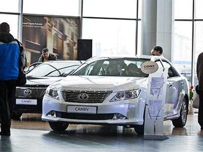 Седан Toyota Camry можно приобрести на условиях программы утилизации