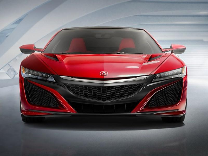 Acura NSX 2015 вид спереди
