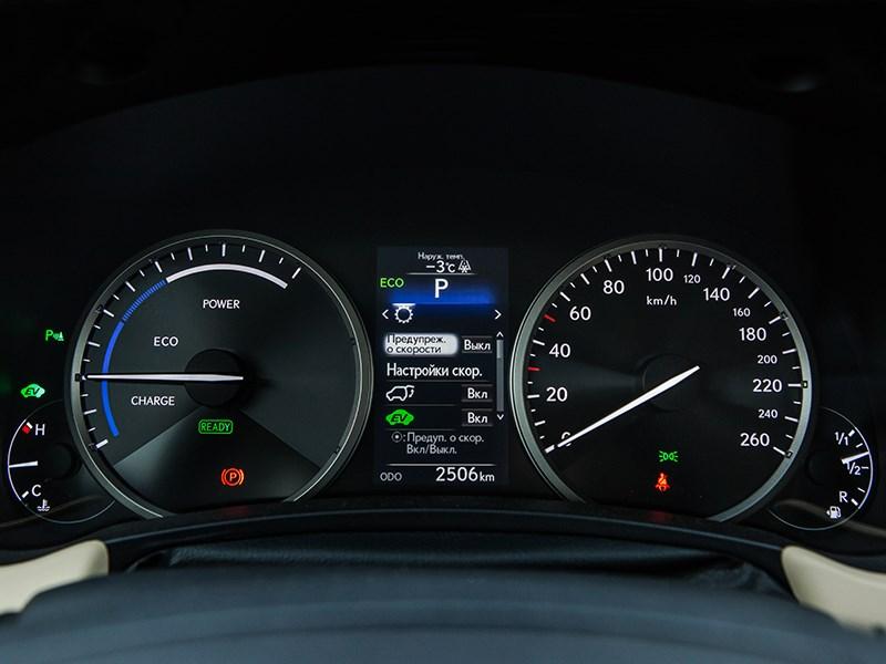 Lexus NX 300h AWD 2015 приборная панель