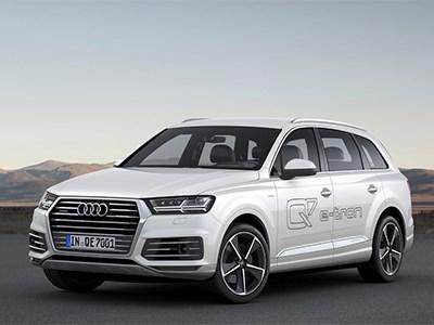 В Женеве презентован новый Audi Q7 e-tron