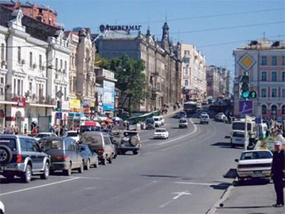 Владивосток вошел в пятерку самых автомобилизированных городов России