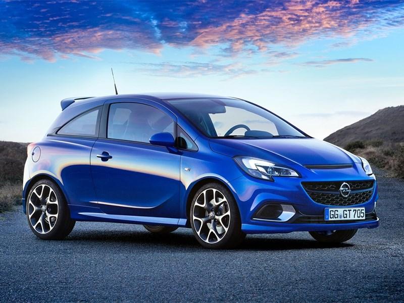 Opel показал новый Corsa OPC в Женеве