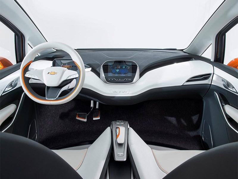 Chevrolet Bolt EV Concept 2015 салон