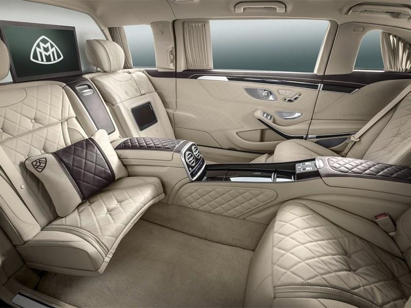 Mercedes-Benz S600 Pullman Maybach 2016 салон