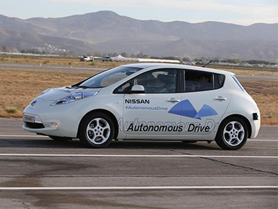 Nissan выпустит свой первый автомобиль-беспилотник уже в 2016 году