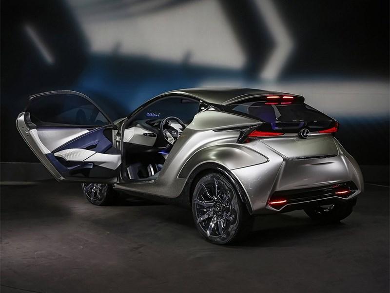 Lexus LF-SA Concept 2015 вид сбоку сзади