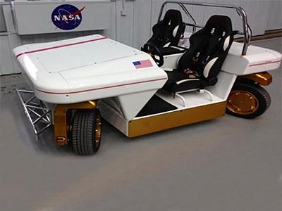 NASA представило автомобиль будущего