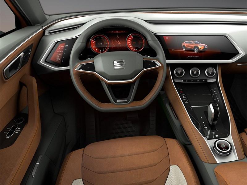Seat 20V20 Concept 2015 водительское место