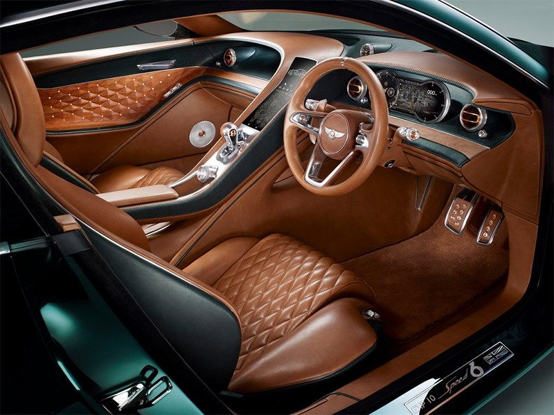 Bentley EXP 10 Speed 6 Concept 2015 салон