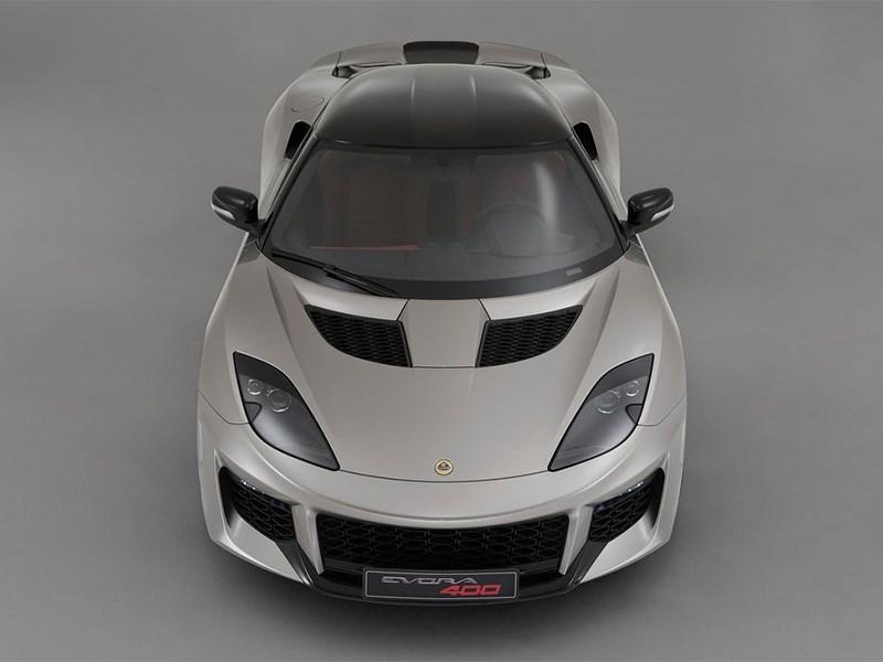 Lotus Evora 400 2016 вид спереди сверху