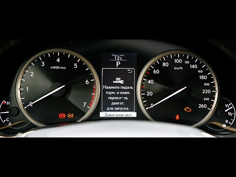 Lexus NX 2014 приборная панель