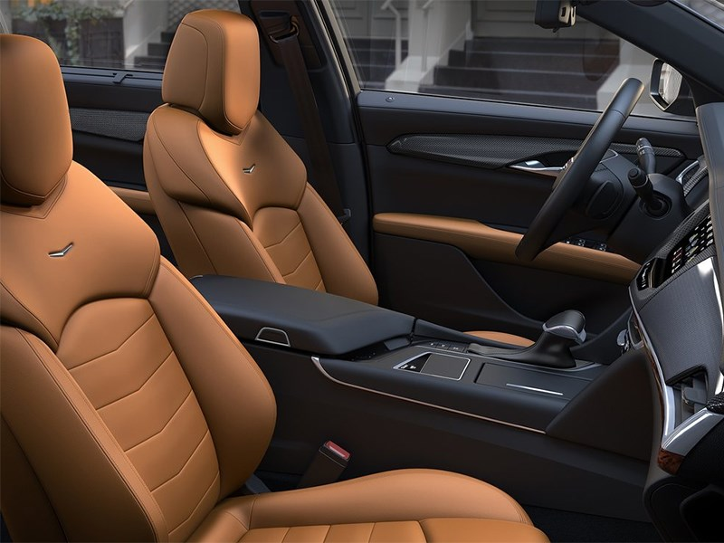 Cadillac CT6 2016 передние кресла
