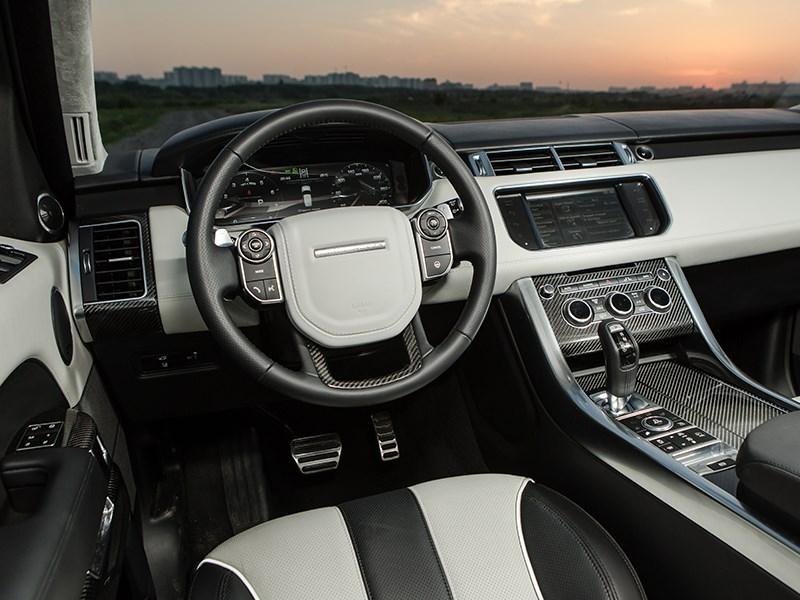 Land Rover Range Rover Sport SVR 2015 салон