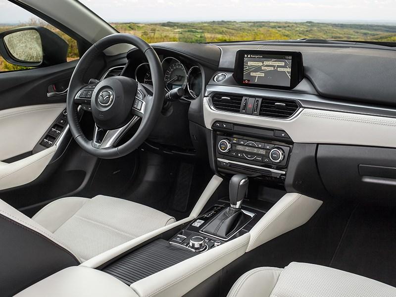 Mazda 6 2016 салон