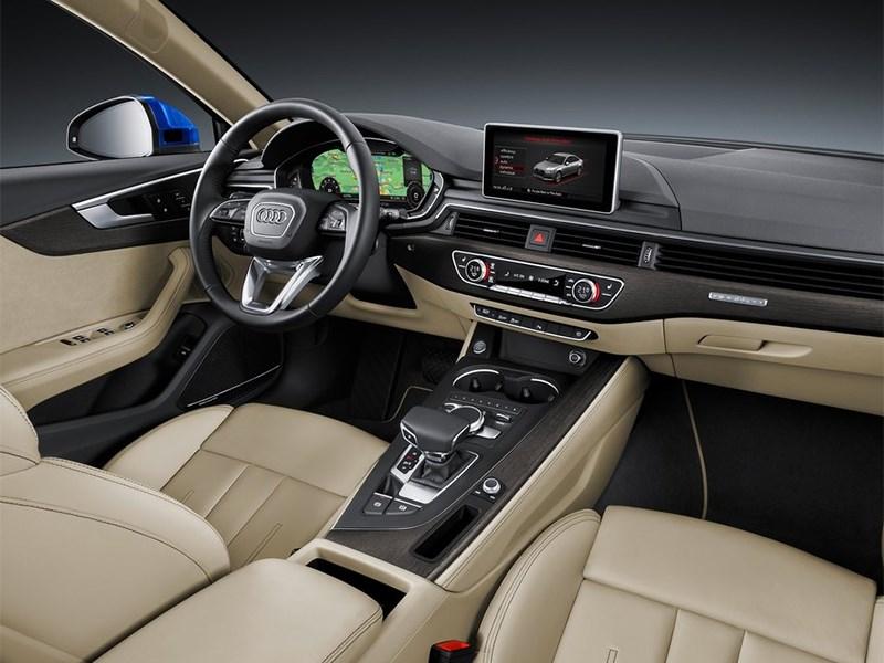 Audi A4 2016 салон