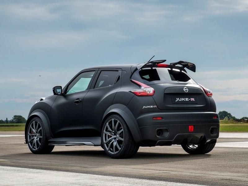 Nissan Juke-R Concept 2015 вид сбоку сзади