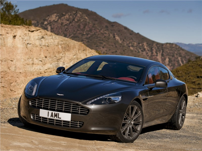 Aston Martin планирует выпустить электрическую версию купе Rapide