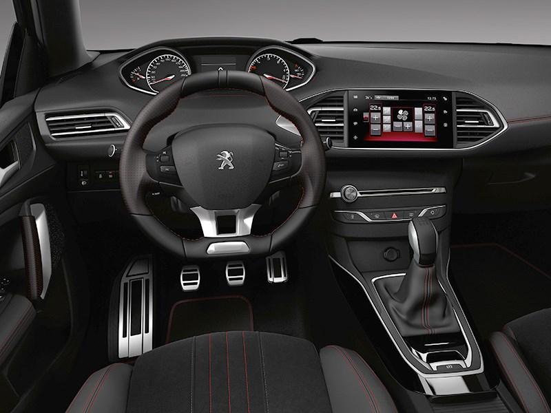 Peugeot 308 GT Line 2015 салон