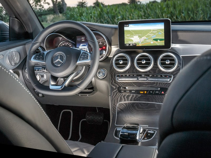 Mercedes-Benz GLC 2016 салон