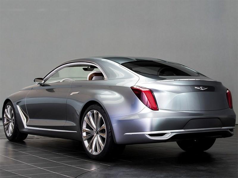 Hyundai Vision G 2015 вид сзади