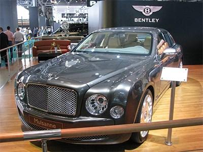 Спрос на автомобили Bentley в России сократился