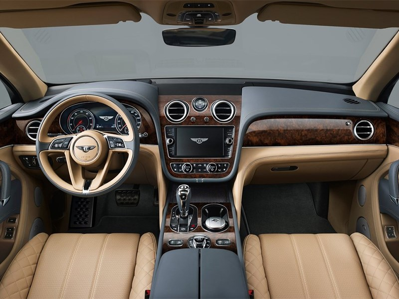 Bentley Bentayga 2016 салон
