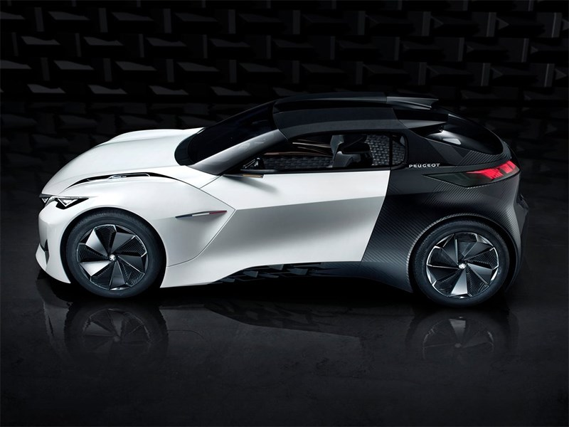 Peugeot Fractal Concept 2015 вид сбоку