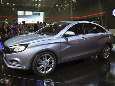 Продажи Lada Vesta начнутся уже на следующей неделе
