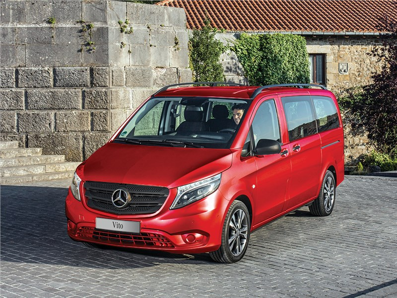 Новый Mercedes-Benz Vito - Mercedes-Benz Vito Tourer 2015 На высшем уровне